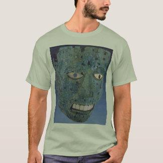 T-shirt masque aztèque - customisé