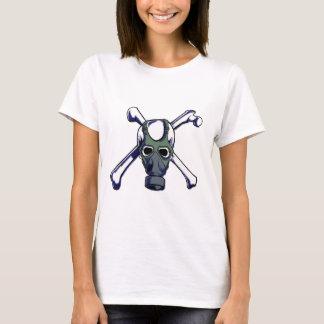 T-shirt Masque de crâne et de gaz