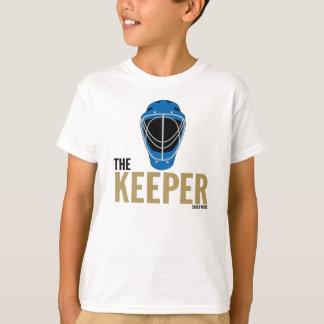 T-shirt Masque de gardien de but d'hockey le gardien