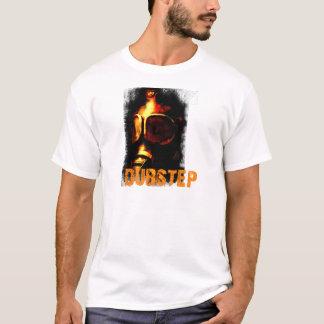 T-shirt Masque de gaz orange de Dubstep