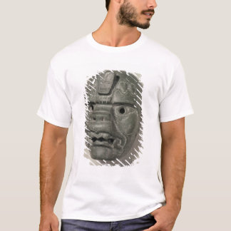T-shirt Masque félin d'un homme, d'Oaxaca, précolombien