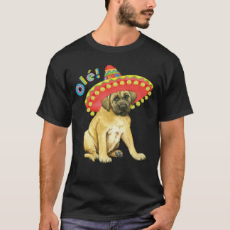 T-shirt Mastiff de fiesta