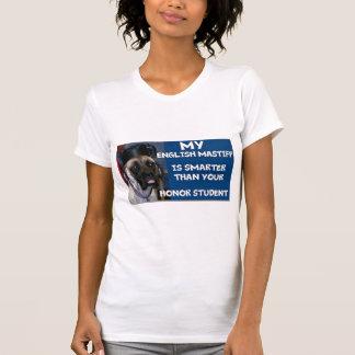 T-shirt mastiff t-court