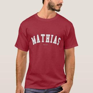 T-shirt Mathias