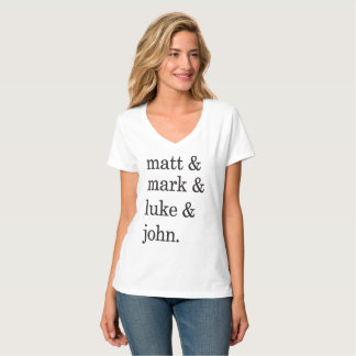 T-shirt Matt et marque et Luc et John
