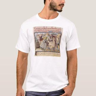 T-shirt Maugis combattant le serpent