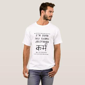 T-shirt Mauvais livreur de karma