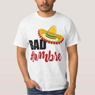 T-shirt Mauvais sombrero coloré de Hombre