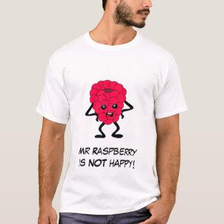 T-shirt Mauvaise bande de fruit de framboise avec le
