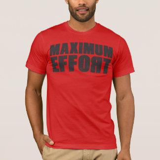 T-shirt maximum d'effort