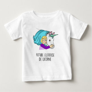 """T-shirt MC """"Toekomstige veefokster van Eenhoorn"""" 2"""