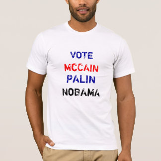 T-shirt McCAIN, PALIN, VOTE, NoBAMA