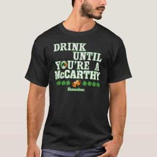 T-shirt McCARTHY ivre