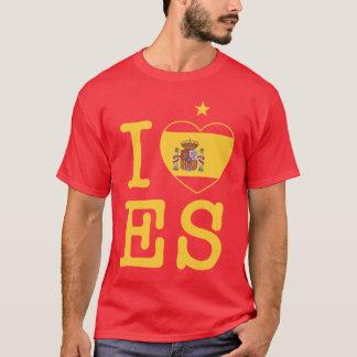 T-shirt ME encanta España con una estrella