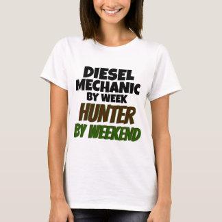 T-shirt Mécanicien diesel par le chasseur de semaine par