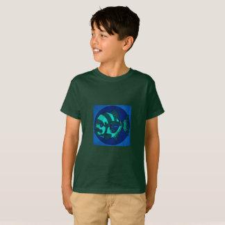 T-shirt mécanique de poissons