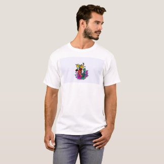 T-shirt Med le butin de crevette de Vaping