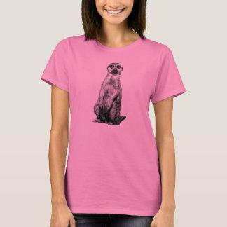 T-shirt Meerkat rose
