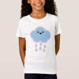 T-shirt méga de bruine de nuage de Kawaii