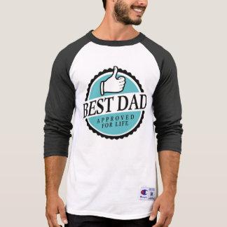 T-shirt Meilleur dad shirt