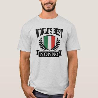 T-shirt Meilleur Nonno du monde