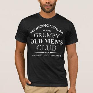 T-shirt Membre fondateur du club grincheux de vieux hommes