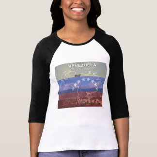T-shirt mémoire Vénézuéla