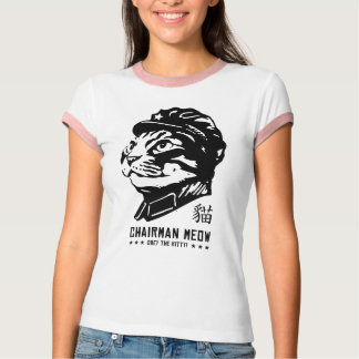 T-shirt Meow de Président