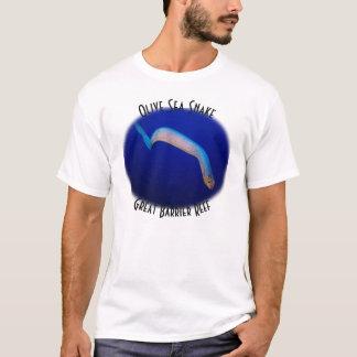 T-shirt Mer de corail olive de la Grande barrière de