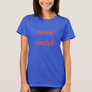 T-shirt merch siocled, fille de chocolat dans Gallois