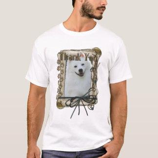 T-shirt Merci - pattes en pierre - Esquimau américain