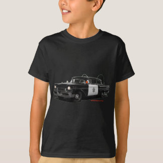 T-shirt Mercury-Monterey-route-patrouille-car 1957