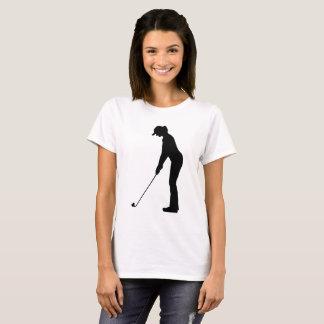 T-shirt Mes battements de coeur pour le golf
