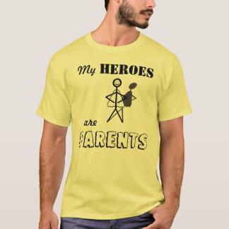 T-shirt Mes héros sont des parents