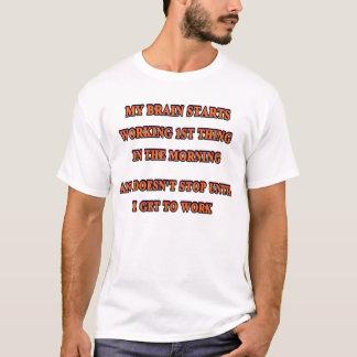 T-shirt Mes travaux de cerveau