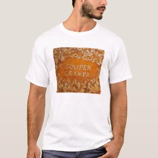 T-shirt Message en ma soupe : Chemise de Grampa