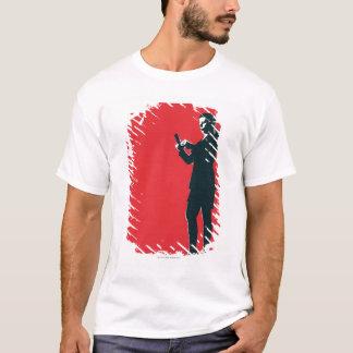 T-shirt Message textuel