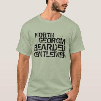 T-shirt Messieurs barbus du nord de la Géorgie