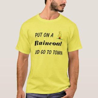 T-shirt Mettez dessus un imperméable