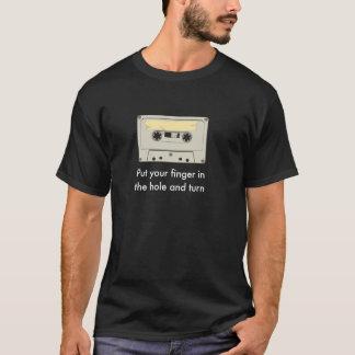 T-shirt Mettez votre doigt dans la cassette