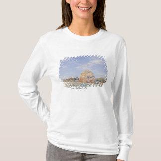 T-shirt Meule de foin d'Alfred Sisley | sur les banques du