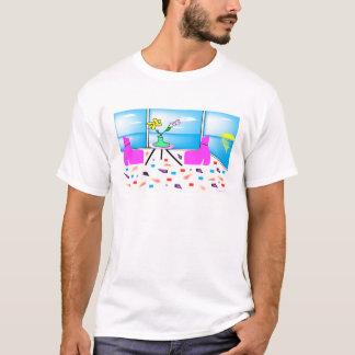 T-shirt Miami coloré lunatique génial, graphique