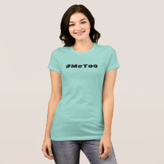 T-shirt mignon de gazouillement du #MeToo des