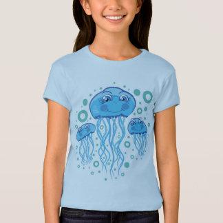 T-shirt mignon de méduses