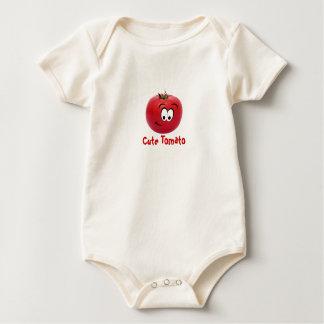 T-shirt mignon de tomate pour le bébé ou les