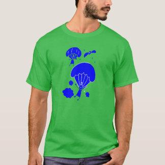 T-shirt mignon d'hommes de parachute