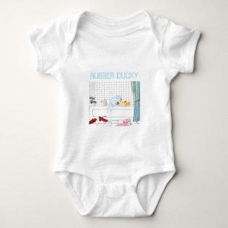 T-shirt mignon en caoutchouc de bébé