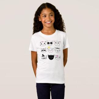 T-shirt mignon pour des enfants.