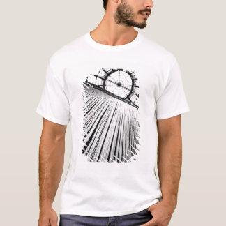 T-shirt Milan Italie, affichage au puits