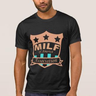 T-shirt Milf d'association de l'Amérique